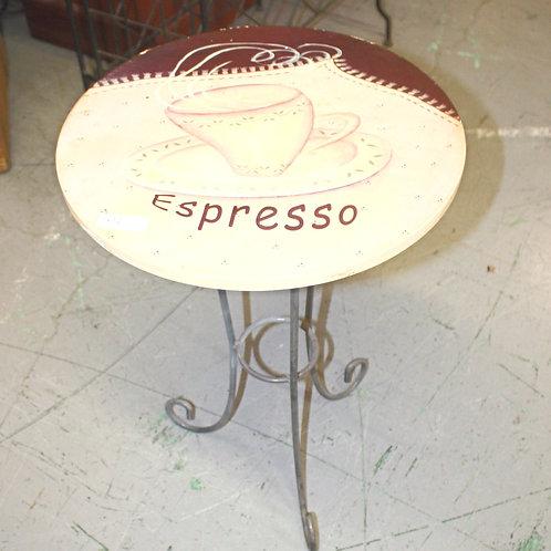 Espresso Side Table