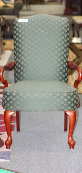 Green Arm Chair