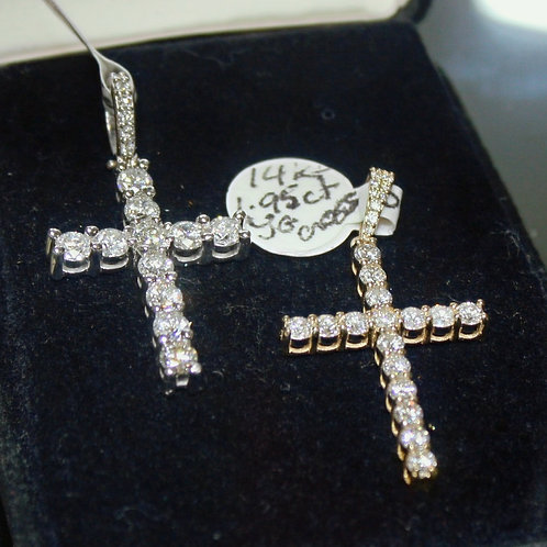 Diamond Cross Necklace Charms (sold separately see description)
