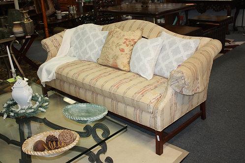 Vintage Floral & Cream Sofa