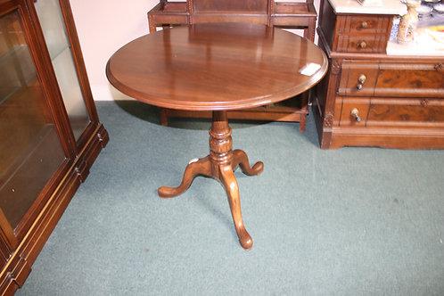 Antique Queen Anne Round Table