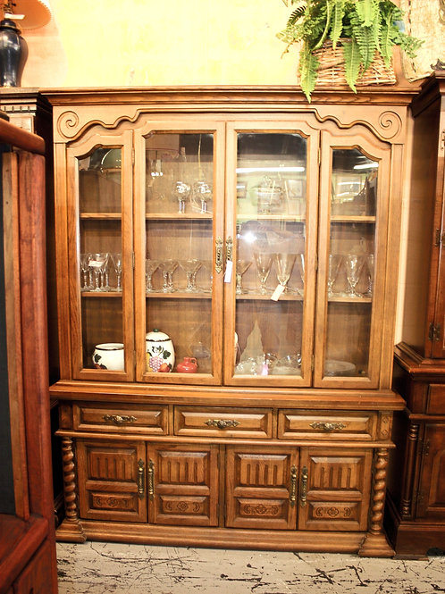 Wood & Glass China Cabinet