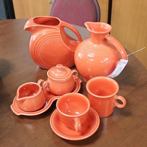 Orange Fiesta Pottery Ware
