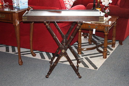 Large Serving Table on Stand