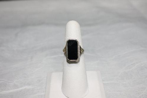 10kt Onyx Ring