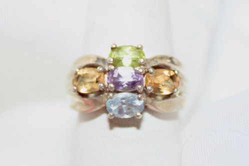 CZ Mother's Ring
