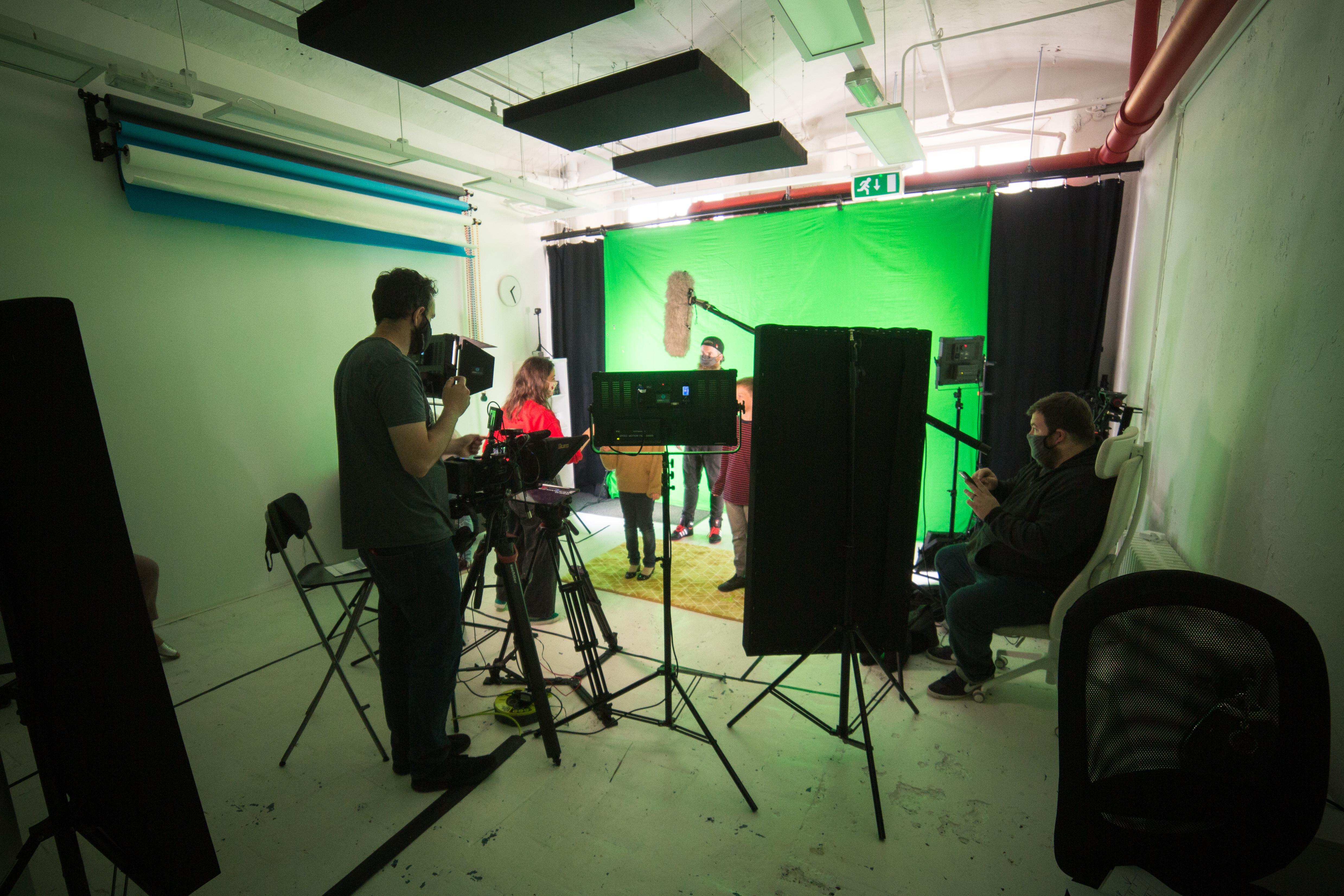 Studio Hire - 1/2 Day