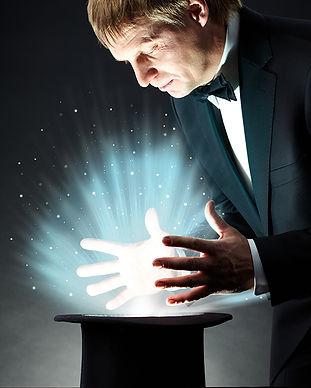 haciendo magia