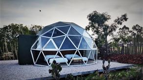 Raíces Glamping, vive la naturaleza desde un domo transparente