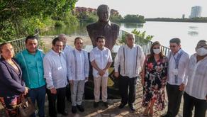Cancún rinde homenaje a Alberto Bojórquez, uno de sus más grandes impulsores del Turismo