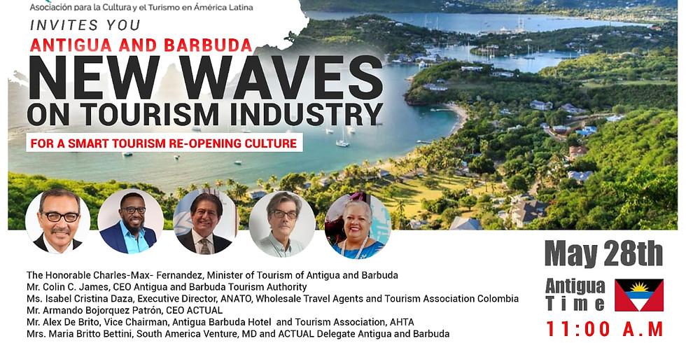 Nuevas olas en la industria del Turismo para la apertura del Turismo Inteligente.