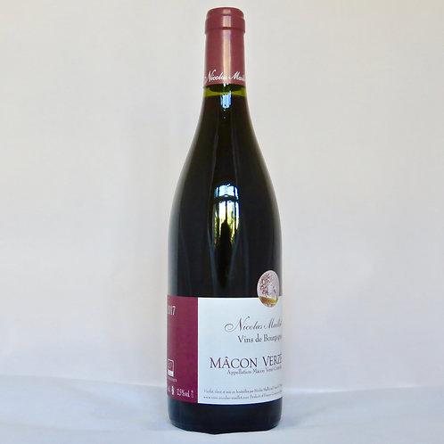 Macon Verzé Rouge 2017