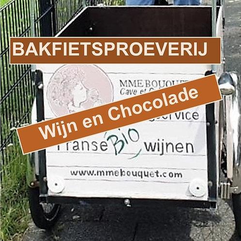 Bakfietsproeverij Wijn-Chocolade