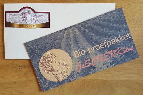 Cadeaubon Proefpakket Biowijnen