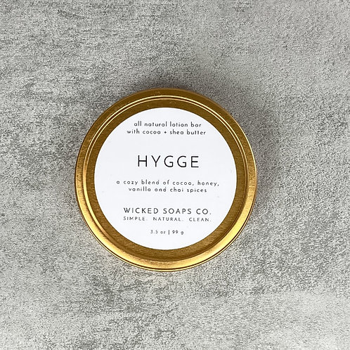 Hygge Lotion Bar by Wicked Soaps Co.