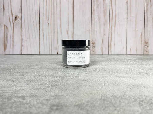 Charcoal Face Mask by Wicked Soaps Co.