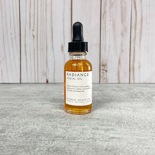 Radiance Facial Oil by Wicked Soaps Co.