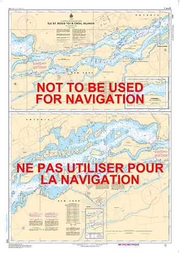 RNC1433 - Île St-Régis to/à Croil Islands
