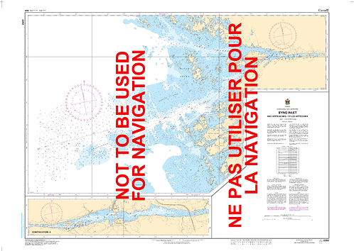 RNC2293 - Byng Inlet and Approaches / et les approches