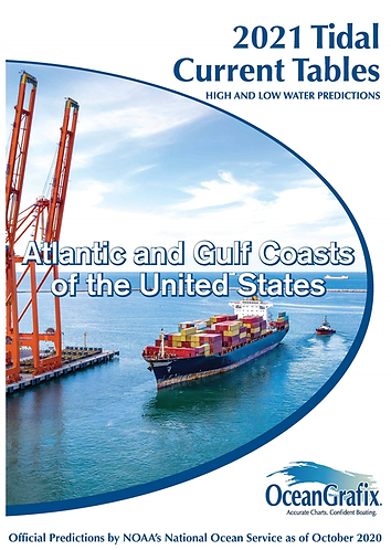 ACCT Tidal Current Tables 2021 – Atlantic and Gulf Coasts of the United States