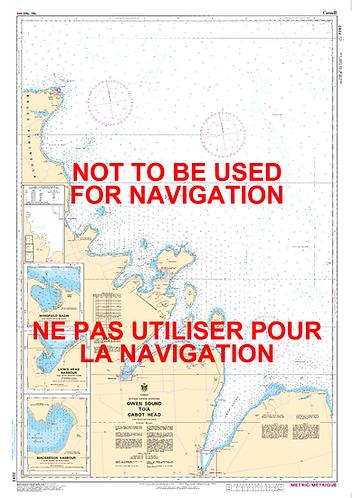 RNC2282 - Owen Sound to/à Cabot Head