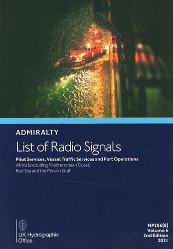 NP286(8) - List of Radio Signals: Pilot Services - Africa (excluding Mediterrane