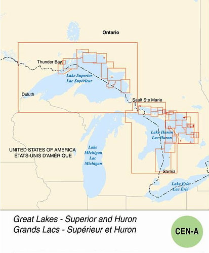 ENC - V-CEN-A - Great Lakes - Superior and Huron