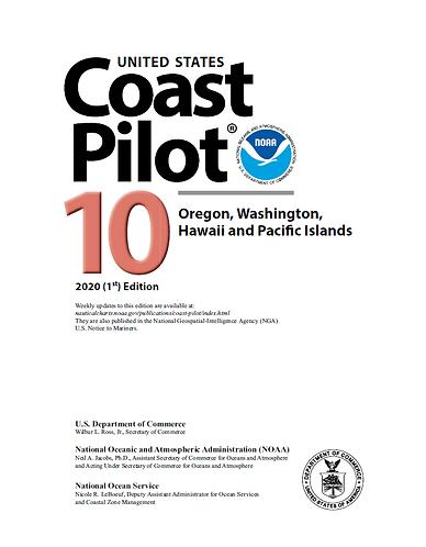 US Coast Pilot 10 2020 (1st) Edition