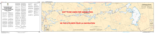 RNC2029 - Couchiching Lock to Port Severn / Écluse de Couchiching a Port Severn