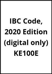 IBC Code, 2020 Edition (digital only), KE100E