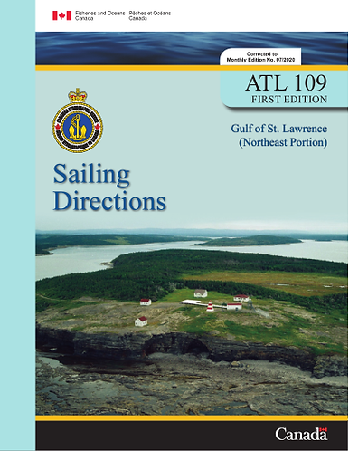 ATL109E - Gulf of St. Lawrence (Northeast Portion), 2006
