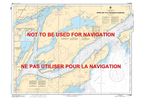 RNC2006 - Upper Gap to/à Telegraph Narrows