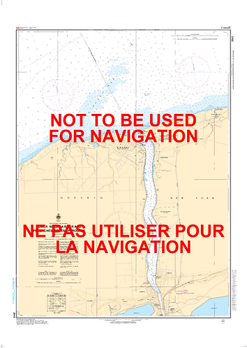 RNC2043 - LOWER NIAGARA RIVER AND APPROACHES / ET LES APPROCHES