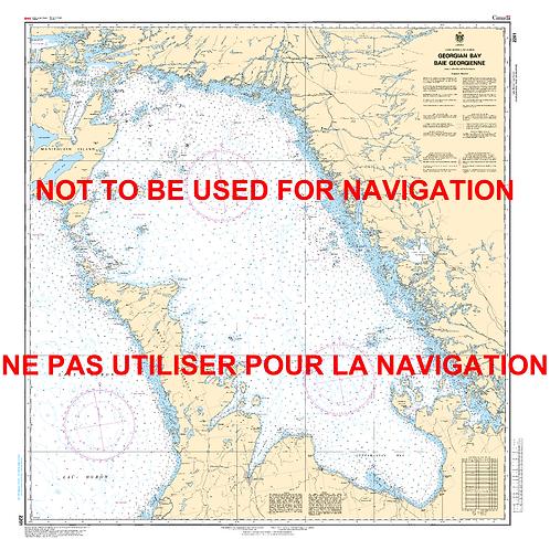 RNC2201 - Georgian Bay / Baie Georgienne