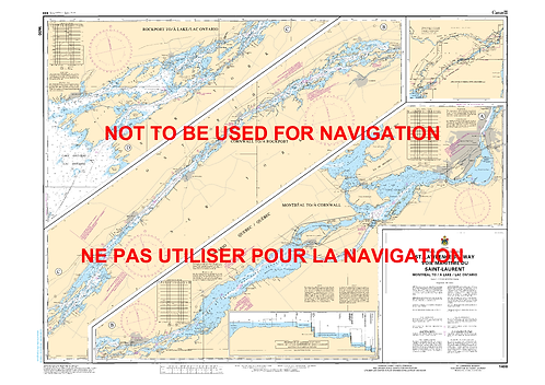 RNC1400 - Montréal to/à Lake/Lac Ontario