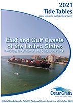 ECTT Tide Tables 2021 – East and Gulf Coasts of the United States including the