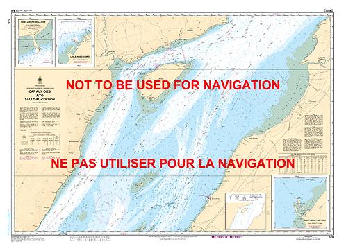 RNC1233 - Cap aux Oies à/to Sault-au-Cochon