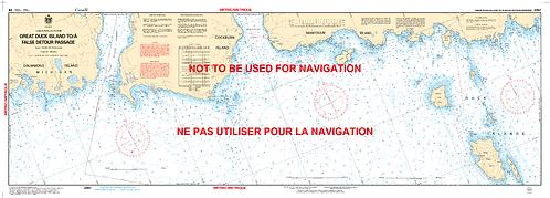 RNC2267 - Great Duck Island to/à False Detour Passage