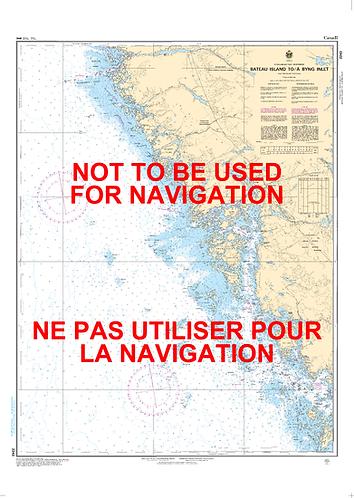 RNC2243 - Bateau Island to/à Byng Inlet