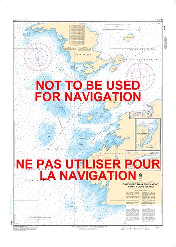 RNC2274 - Cape Hurd to/à Tobermory and/et Cove Island