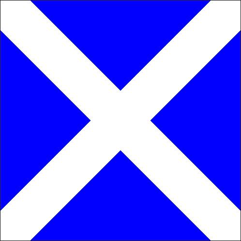 "Letter Flag ""M"" - Mike"