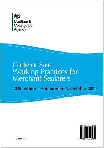 Code of Safe Working Practices for Merchant Seafarers - Amendment 5