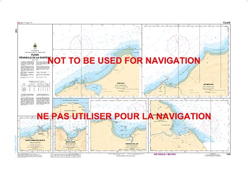 RNC1230 - Plans-Péninsule de la Gaspésie
