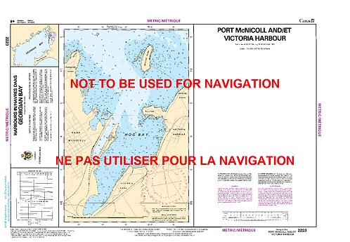 RNC2223 - Port McNicoll and/et Victoria Harbour
