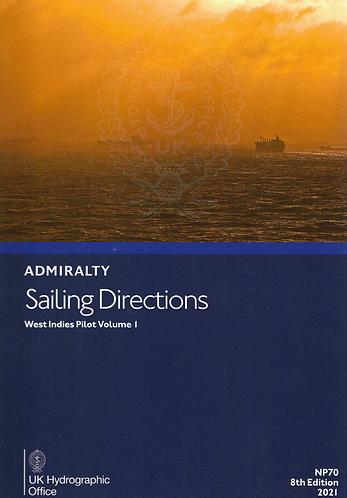 NP70 - Sailing Directions: West Indies Pilot Volume 1