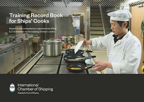 Training Record Book for Ships' Cooks