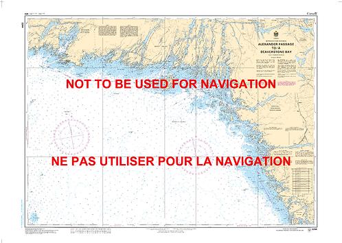 RNC2244 - Alexander Passage to/à Beaverstone Bay