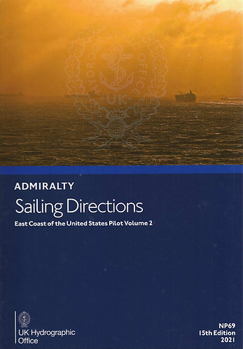 NP69 - Sailing Directions: East Coast of the United States Pilot Volume 2