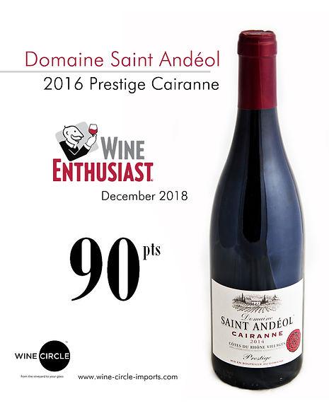 Domaine Saint andeol cairanne_wine enthi