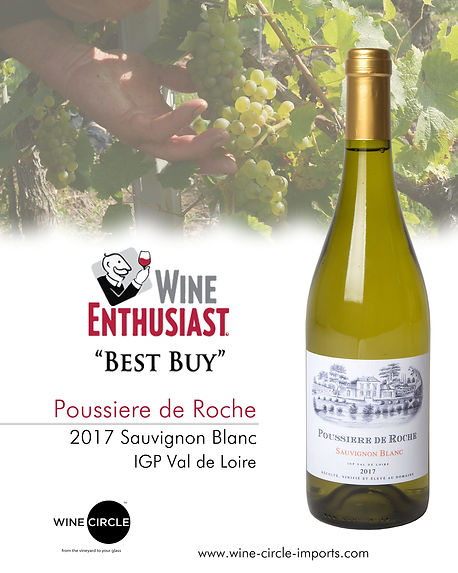 Poussiere de Roche 87pts Wine enthusiast
